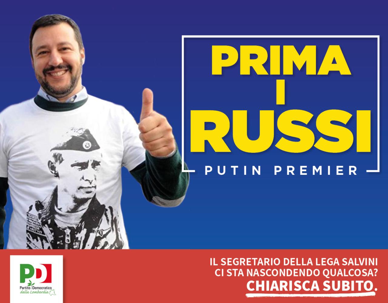 Salvini Prima i russi