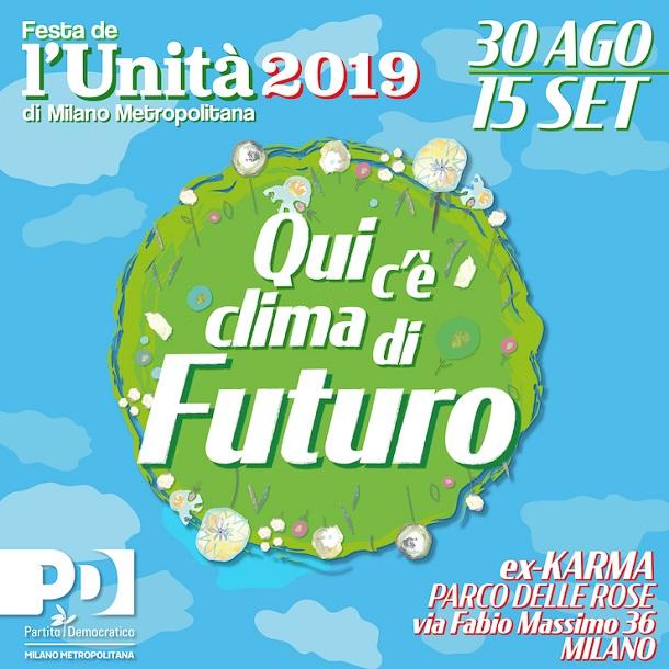 La festa de l'Unità di Milano Metropolitana