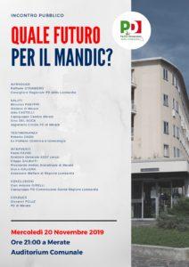 Incontro a Merate sull'ospedale Mandic, con Raffaele Straniero